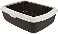 Туалет-лоток MP Bergamo Juliet / 767640 (серый) -