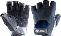 Перчатки для фитнеса Torres PL6047XL (XL, черный) -