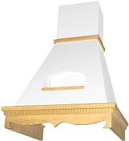 Вытяжка купольная Elikor Бельведер 60П-650-П3Д (бежевый/дуб неокрашенный) -