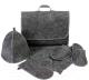 Набор текстиля для бани Добропаровъ Портфель / 2822379 -