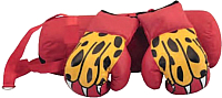 Набор для бокса детский Atemi BS-10 (красный) -