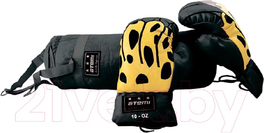 Купить Набор для бокса детский Atemi, BS-10 (черный), Китай