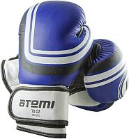 Боксерские перчатки Atemi LTB-16101 6oz (S/M, синий) -