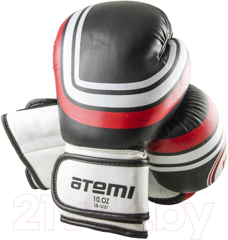 Купить Боксерские перчатки Atemi, LTB-16101 10oz (S/M, черный), Китай