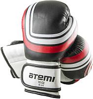 Боксерские перчатки Atemi LTB-16101 10oz (S/M, черный) -