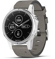 Умные часы Garmin Fenix 5S Plus/ 010-01987-05 (белый) -