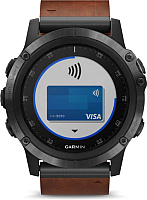 Умные часы Garmin Fenix 5X Plus Sapphire / 010-01989-03 -