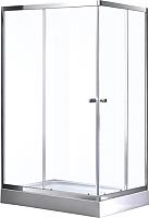 Душевой уголок Avanta D106/2 L (рифленое стекло/квадраты) -