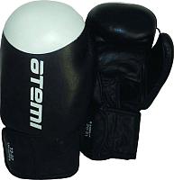 Боксерские перчатки Atemi LTB-19009 8oz (черный/белый) -