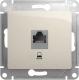 Розетка Schneider Electric Glossa GSL000981K -
