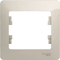 Рамка для выключателя Schneider Electric Glossa GSL000901 -