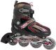 Роликовые коньки Atemi AJIS-12.01 X9 Junior (р-р 27-30, черный/оранжевый) -