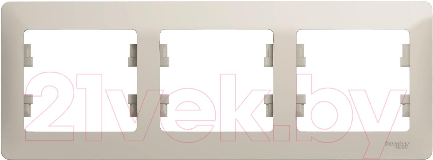 Купить Рамка для выключателя Schneider Electric, Glossa GSL000903, Россия, пластик, Glossa (Schneider Electric)