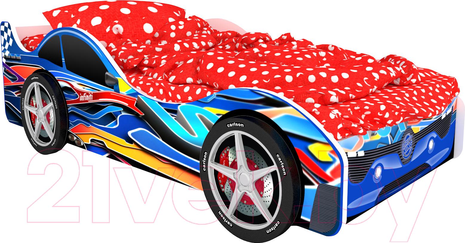 Купить Детская кровать-машинка КарлСон, Город Барселона, Россия
