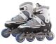 Роликовые коньки Atemi AJIS-1601 Abec7 (р-р 35-38, серый) -