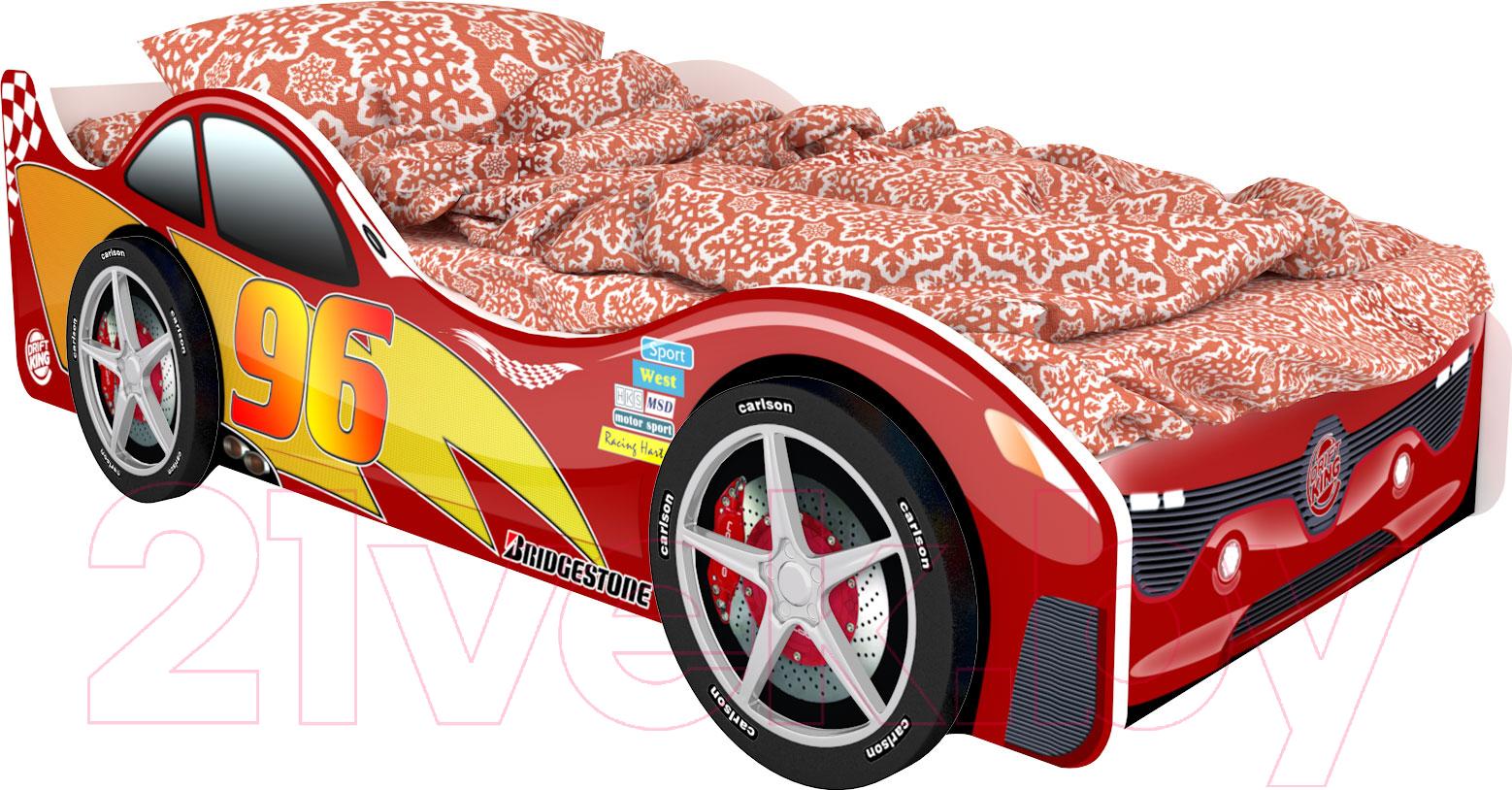 Купить Детская кровать-машинка КарлСон, Город Токио, Россия