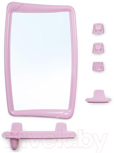 Купить Комплект мебели для ванной Berossi, 51 НВ 05102000 (розовый), Россия