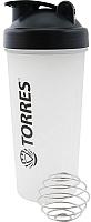 Шейкер спортивный Torres S01-600-01 (600мл, черный) -