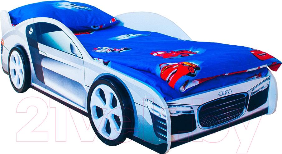 Купить Детская кровать-машинка КарлСон, Классик Ауди, Россия