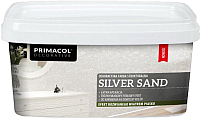 Краска декоративная Primacol Silver Sand (1л, серебрянный) -