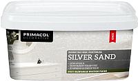 Краска декоративная Primacol Silver Sand (3л, серебристый) -