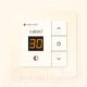 Терморегулятор для теплого пола Caleo 720 с адаптерами (бежевый) -