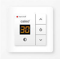 Терморегулятор для теплого пола Caleo 720 с адаптерами (белый) -