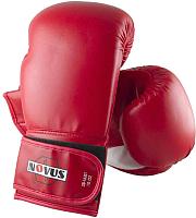 Боксерские перчатки Novus LTB-16301 10oz (L/XL, красный) -