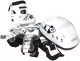 Роликовые коньки Atemi AJIS-12.08 с комплектом защиты (р 38-41, белый) -