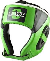 Боксерский шлем Novus LTB-16321 (L, зеленый) -