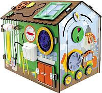 Развивающая игрушка Мастер игрушек Бизиборд. Я-строитель / IG0269 -