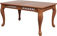 Обеденный стол Goldoptima Людовик 01 (орех коньяк) -