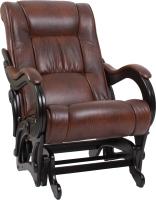 Кресло-глайдер Импэкс 78 (венге/Antik crocodile) -