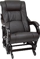 Кресло-качалка Импэкс Глайдер 78 (венге/Dundi 108) -