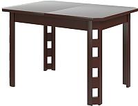 Обеденный стол Goldoptima Генуя 01 (орех коньяк) -