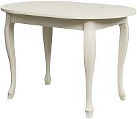 Обеденный стол Goldoptima Верона 02 (эмаль слоновая кость) -