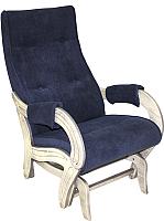 Кресло-глайдер Импэкс Комфорт 708 (дуб шампань с патиной/Verona Denim Blue) -