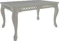 Обеденный стол Goldoptima Людовик 01 (эмаль белый) -