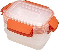 Набор контейнеров Joseph Joseph Nest Lock 81084 (оранжевый) -