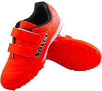 Бутсы футбольные Novus NSB-01 Turf (оранжевый, р-р 28) -