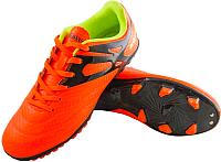 Бутсы футбольные Novus NSB-20 MSR (оранжевый, р-р 37) -