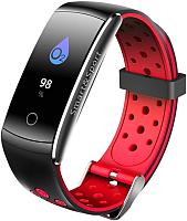 Фитнес-трекер SOVO SE12 цветной дисплей (черный/красный) -