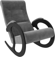 Кресло-качалка Импэкс 3 (венге/Verona Antrazite Grey) -
