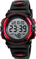 Часы наручные для мальчиков Skmei 1266-2 (красный) -