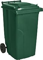 Контейнер для мусора Алеана 122064 (зеленый) -