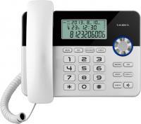 Проводной телефон Texet TX-259 (Black-Silver) -