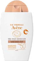 Крем солнцезащитный Avene Минеральный тональ SPF50+ (40мл) -