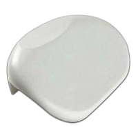 Подголовник для ванны Triton Х12 на присосках (белый) -