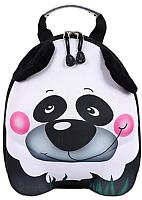 Детский рюкзак Котофей 02003115-42 (черный/белый) -