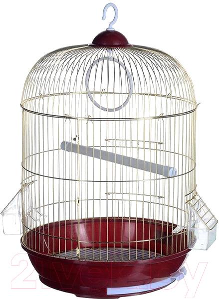 Купить Клетка для птиц Happy Animals, А309 Gold, Китай, золото